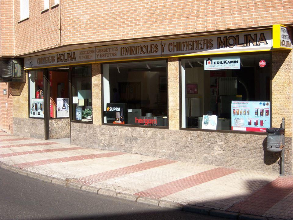 Tienda de chimeneas en Guadalajara