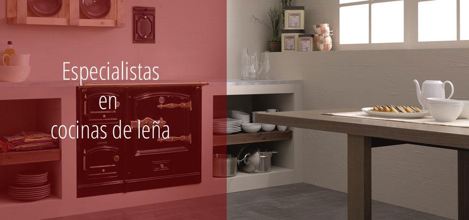 Cocinas de leña Lacunza en Chimeneas Molina