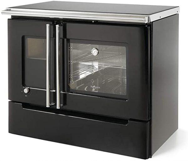 Cocina de leña Cerrada Calefactora Cares Hergom Madrid