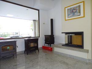 Estufas de hierro fundido y chimeneas modernas en Chimeneas Molina