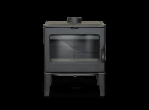 Interior placas fundición estufa de hierro fundido Bidart Lacunza