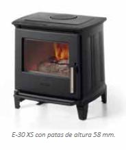 Estufa de leña E-30XS Hergom Alcalá de Henares