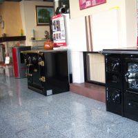 Cocinas de leña Lacunza y Hergom en Chimeneas Molina