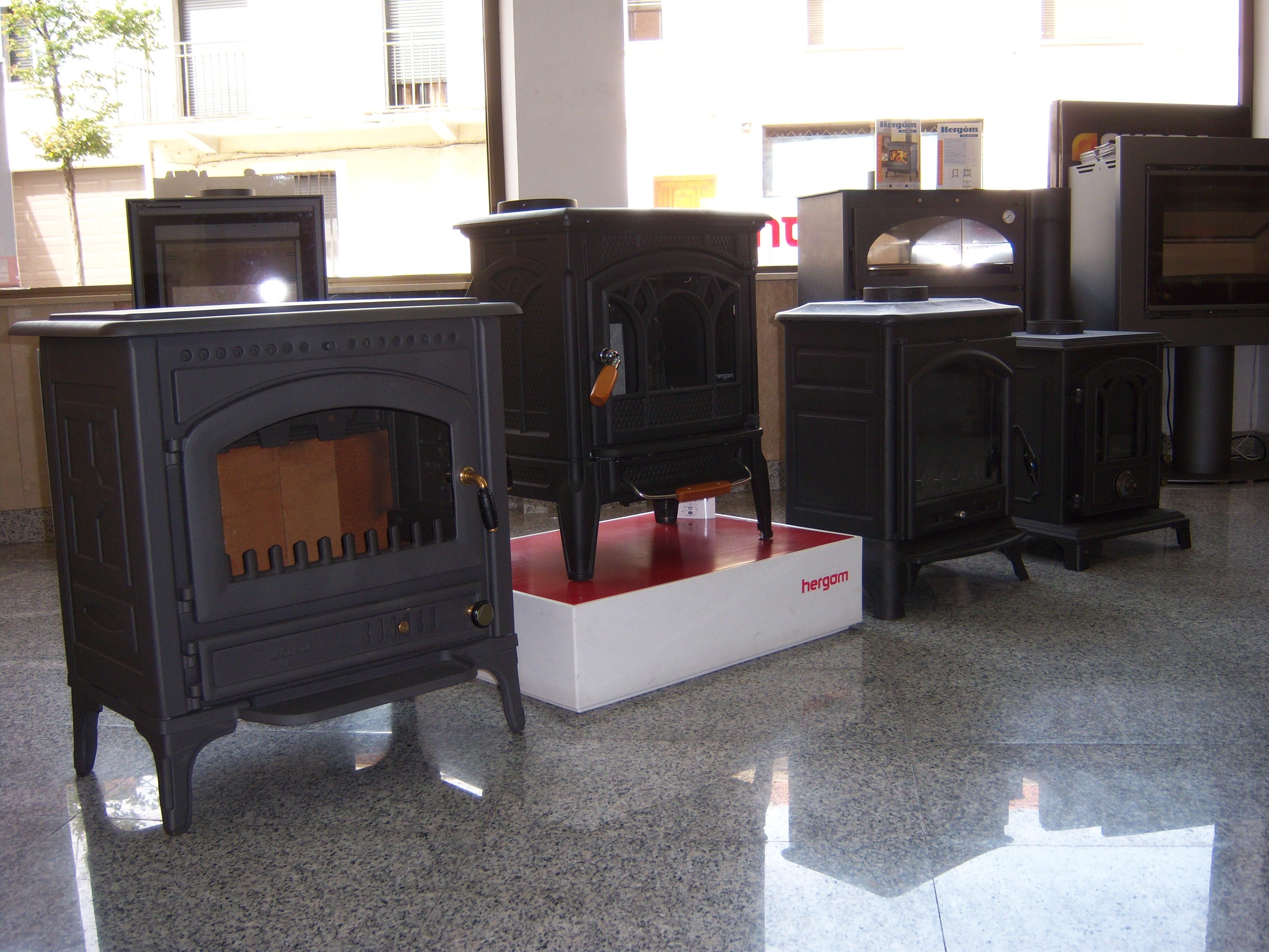 Estufas de hierro fundido en Chimeneas Molina