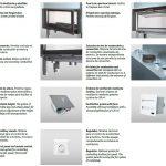 Datos Técnicos del hogar con puerta de guillotina Carbel G-100