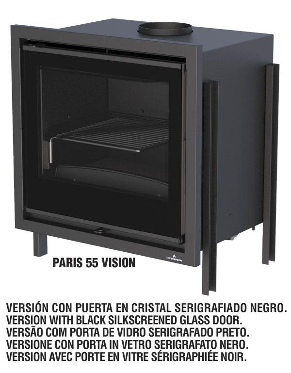 INSERTABLE CASSETTE LEÑA PARIS VISIÓN 55 BRONPI