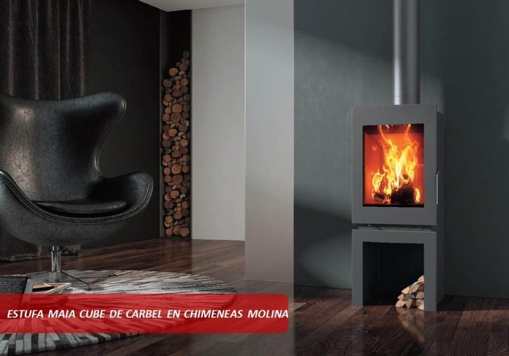 Estufa Maia Cube Carbel