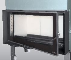 Apertura lateral hogar de guillotina G-100 Carbel